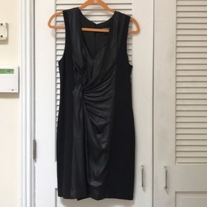Express black fitted sleeveless dress size 10